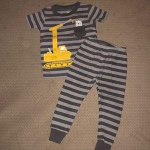 Carters matching PJ set 18 months